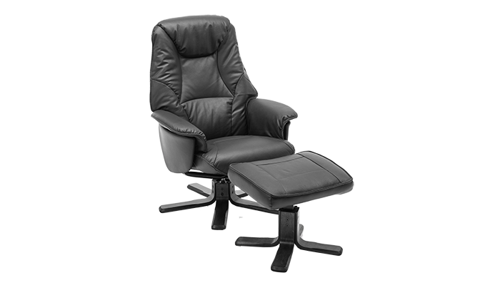 Swivel Chair (leather)