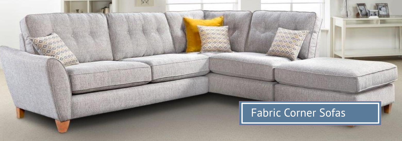 Group hero fabric corner sofas