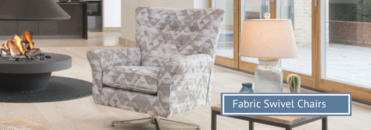 Group hero fabric swivel chairs