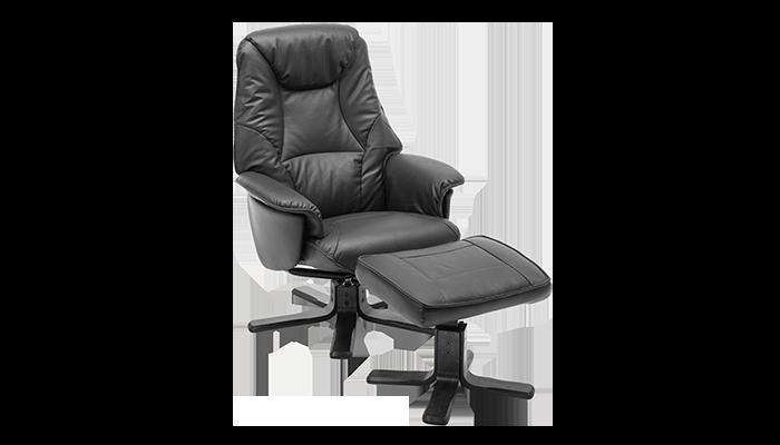 Footstool (Leather)