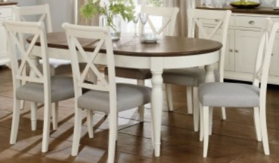 6-8 Extending Table 6 Chairs