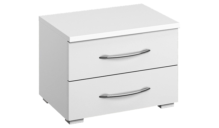 2 Drawer Wide Bedside