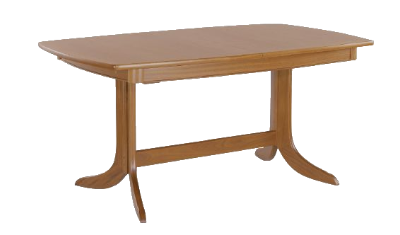 Large Boat Shaped Table On Ped