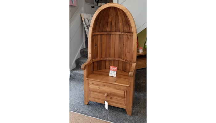 Unusual Wooden Chair
