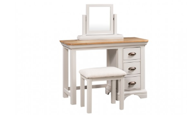 Includes Dressing Table With Stool And Trinket Mirror
