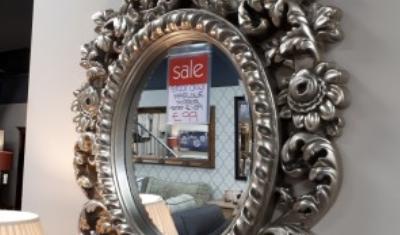 Ornamental mirror
