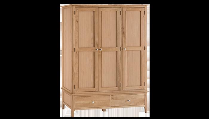 Large 3 Door Wardrobe
