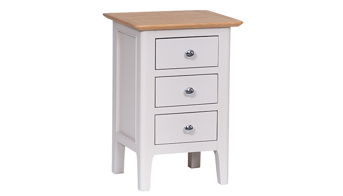 Small 3 Drawer Bedside