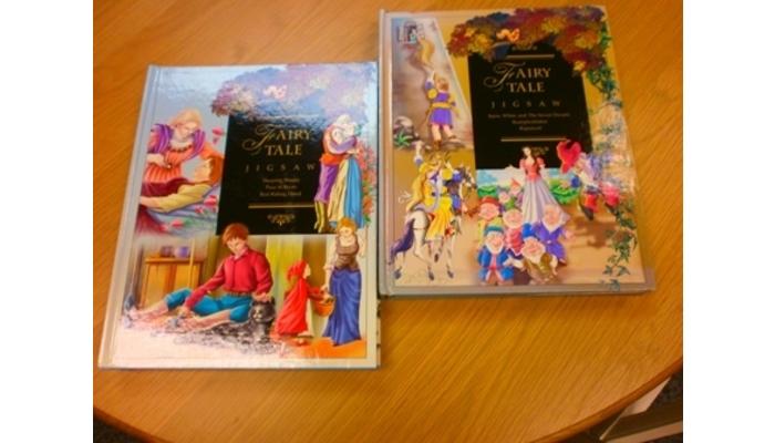 pair of jigsaw books