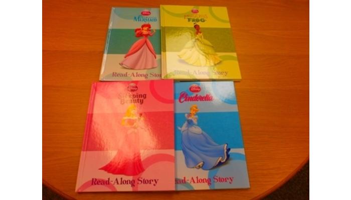 Set of 4 Disney Books