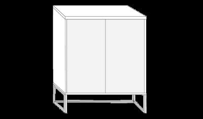 2 Door Dresser